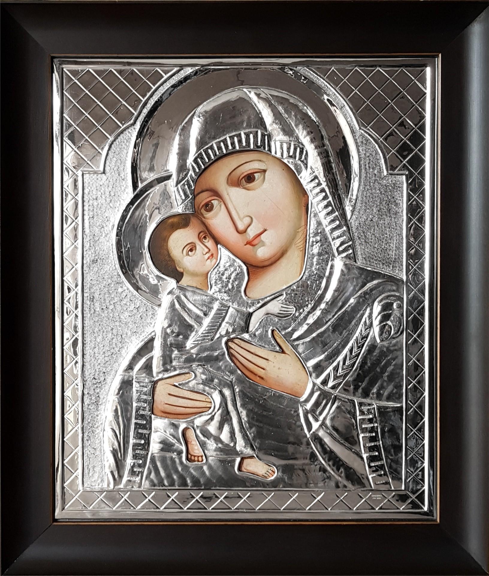 Ikona Matki Boskiej Z Diecezji Stanisławowskiej Na Ukrainie